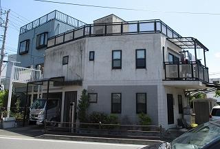 【完工事例】[2017.8.1]藤沢市S様邸 外壁塗装・シーリング打ち替え・防水他工事