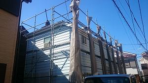 【完工事例】[14.11.15] 茅ヶ崎市S様邸 外壁塗装・屋根塗装・付帯部塗装・バルコニー床塗装・シーリング打ち