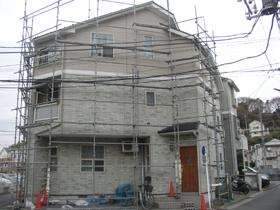 【完工事例】[05.1.07] 横浜市栄区O様邸 外壁タイル調塗装・屋根塗装・他塗装