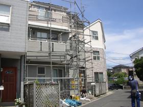 【完工事例】[05.8.24] 横浜市栄区I様邸 外壁塗装、屋根塗装、他