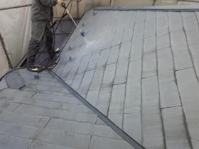 【完工事例】[09.4.20]  川崎市多摩区N様邸 屋根塗装・雨戸塗装工事