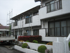 【完工事例】[09.5.7]  東京都小金井市S様邸 外壁・屋根他塗装工事