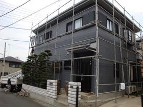 【完工事例】[09.6.10]  伊勢原市S様邸  外壁塗装・屋根塗装・他塗装・シーリング打ち替え