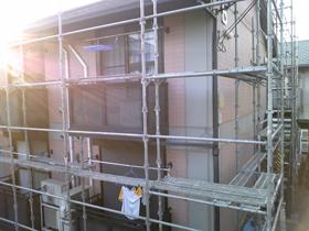 【完工事例】[09.8.17] 藤沢市AアパートB棟 外壁塗装・屋根塗装・他塗装・シーリング打替・雨樋交換工事