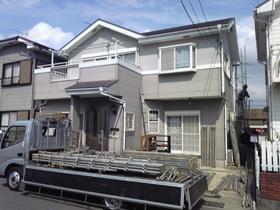 【完工事例】[09.9.28]  小田原市M様邸 外壁及び屋根塗装・シーリング打ち替え工事他