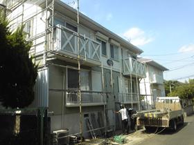 【完工事例】[10.9.4] 藤沢市Wアパート 外壁塗装・屋根塗装・他塗装・シーリング打ち替え工事