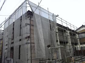 【完工事例】[11.2.2] 横浜市瀬谷区Fアパート 外壁塗装・屋根塗装・他塗装・雨樋交換・防水工事