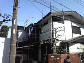 【完工事例】[11.4.12]  川崎市宮前区T様邸 外壁塗装・屋根塗装・他塗装・カーポート屋根交換工事