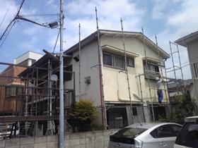 【完工事例】[11.5.9] 鎌倉市Uアパート 外壁塗装・付帯部塗装・共用廊下階段塗装工事