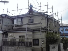 【完工事例】[11.8.1] 茅ヶ崎市I様邸 外壁塗装・屋根塗装・付帯部塗装・シーリング打ち替え工事他