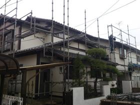 【完工事例】[12.11.17] 藤沢市K様邸 外壁塗装・付帯部塗装・外塀塗装・バルコニー庇交換工事