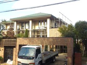 【完工事例】[13.1.7] 藤沢市住宅外壁塗装・下屋根塗装・付帯部塗装・外塀塗装・バルコニー床