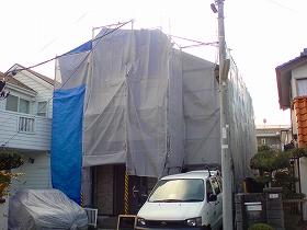 【完工事例】[13.1.11] 茅ケ崎市I様邸 外壁塗装・屋根塗装・付帯部塗装・バルコニートップコート・シーリング