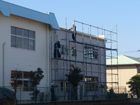【完工事例】[13.2.3] S幼稚園2013 外壁塗装・付帯部塗装・シーリング打ち替え工事