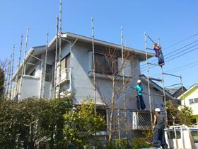 【完工事例】[13.3.12] 横浜市金沢区K様邸 外壁塗装・屋根塗装・付帯塗装・バルコニー床防水工事