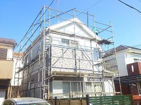 【完工事例】[13.3.9] 藤沢市K様邸 外壁塗装、屋根塗装、付帯部塗装他工事