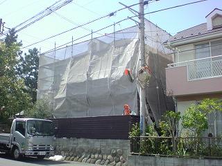 【完工事例】[13.4.9] 藤沢市Y様邸 外壁塗装・屋根塗装・付帯部塗装・シーリング打ち替え工事