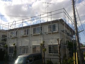 【完工事例】[13.5.7] 横浜市泉区Wアパート 外壁塗装・屋根塗装・付帯部塗装工事