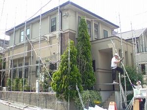 【完工事例】[13.5.9] 藤沢市M様邸 外壁塗装・屋根塗装・付帯部塗装他工事