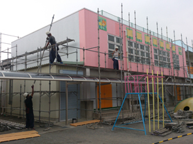 【完工事例】[13.7.25] S幼稚園2013 外壁塗装・屋根塗装・付帯部塗装・シーリング打替・防水工事