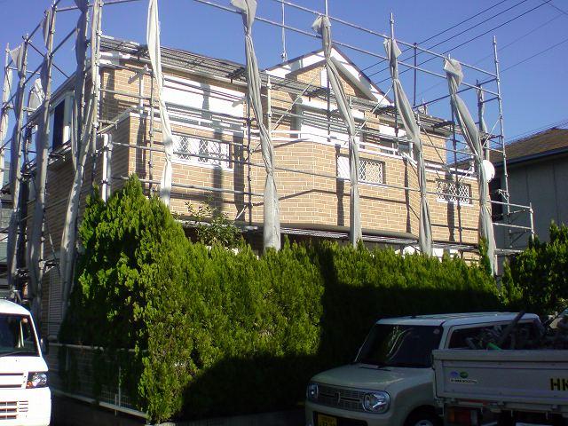 【完工事例】[13.11.26] 藤沢市S様邸 外壁塗装・屋根塗装・付帯部塗装・シーリング打ち替え他工事