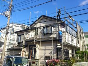 【完工事例】[13.11.30] 藤沢市I様邸 外壁塗装・屋根塗装・付帯塗装・シーリング打ち替え他工事