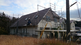 【完工事例】[14.1.13] 鎌倉市S様邸 外壁塗装・屋根塗装・付帯塗装・シーリング打替工事