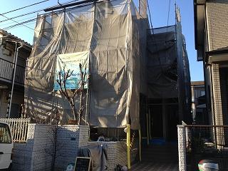 【完工事例】[14.1.27] 藤沢市N様邸 外壁塗装 屋根塗装 シーリング打ち替え 付帯部塗装 他工事