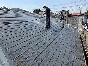 【完工事例】[14.6.14]  相模原市Hアパート 外壁塗装・屋根塗装・付帯塗装工事