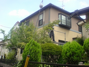 【完工事例】[14.8.17] 横浜市中区N様邸 外壁塗装・付帯部塗装他工事