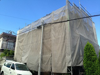 【完工事例】[14.8.22] 横浜市南区S様邸 屋根塗装・付帯塗装・シーリング打ち替え工事