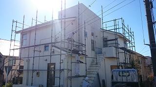 【完工事例】[14.11.13] 横浜市金沢区Y様邸 外壁塗装・屋根塗装・付帯部塗装・バルコニー床塗装工事