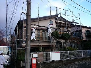 【完工事例】[14.12.1] 藤沢市N様邸 外壁塗装・付帯部塗装