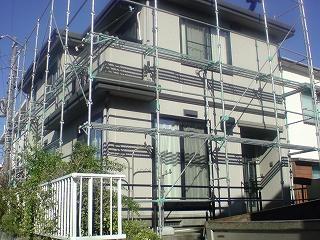 【完工事例】[14.12.3]  逗子市N様邸 外壁塗装・屋根塗装・付帯部塗装他工事