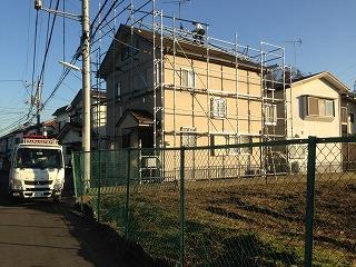 【完工事例】[15.1.9] 藤沢市I様邸 外壁塗装・屋根塗装・付帯部塗装・シーリング打ち替え工事