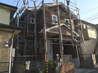 【完工事例】[15.3.27] 藤沢市M様邸 外壁塗装・屋根塗装・付帯部塗装・シーリング打ち替え工事