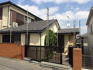 【完工事例】[15.4.2] 横浜市旭区K様邸 外壁塗装・屋根塗装・付帯部塗装・他塗装工事