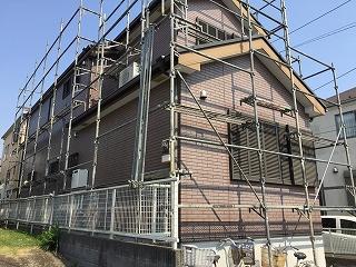 【完工事例】[15.5.8] 藤沢市M様邸 外壁塗装・屋根塗装・付帯部塗装・シーリング打ち替え工事