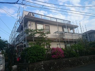 【完工事例】[15.5.7] 藤沢市I様邸 外壁塗装・付帯部塗装・シーリング打ち均し工事
