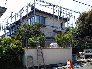 【完工事例】[15.5.26] 藤沢市F様邸 外壁塗装・付帯部塗装他工事