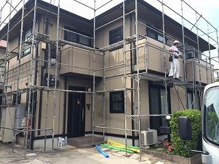 【完工事例】[15.6.10] 藤沢市Tメゾン様邸 外壁塗装・付帯部塗装他工事