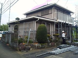 【完工事例】[15.7.24] 藤沢市K様邸 外壁塗装・付帯部塗装・シーリング打ち替え他工事