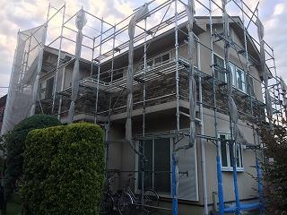 【完工事例】[15.8.19]  高座郡寒川町A様邸 外壁塗装・屋根塗装・付帯部塗装・他工事