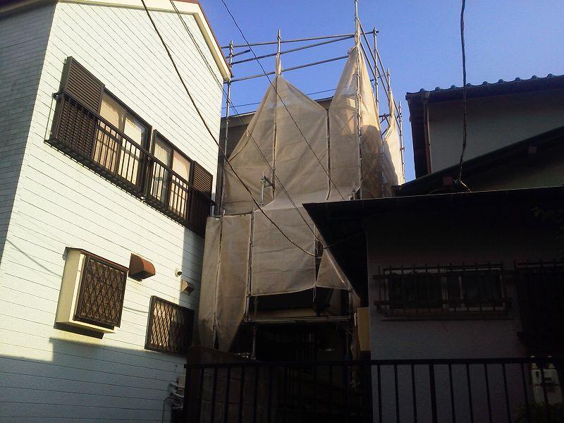 【完工事例】[15.9.15] 藤沢市M様邸 外壁塗装・屋根塗装・付帯部塗装・シーリング打ち替え他工事