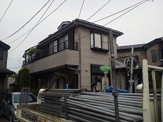 【完工事例】[15.10.10] 藤沢市K様邸 外壁塗装・屋根塗装・付帯部塗装・シーリング打ち替え他工事