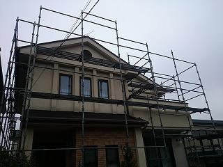 【完工事例】[16.1.12]  中郡二宮町K様邸 外壁塗装・屋根塗装・付帯部塗装工事
