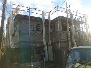 【完工事例】[16.1.20] 横浜市旭区S様邸 外壁塗装・屋根葺き替え・付帯塗装・シーリング打ち替え工事