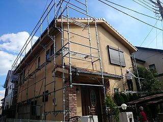 【完工事例】[16.3.15] 藤沢市S様邸 外壁塗装・付帯部塗装工事