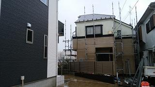 【完工事例】[16.3.19] 横浜市I様邸 外壁塗装・屋根塗装・付帯部塗装・シーリング打ち替え・バルコニー床