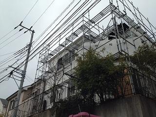 【完工事例】[16.3.25] 鎌倉市K様邸 外壁塗装・付帯部塗装・バルコニー床トップコート工事